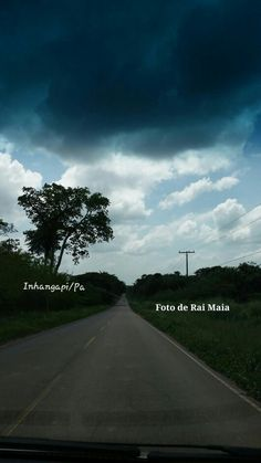 Rodovia Castanhal/Inhangapi -Pa. Entardecer.