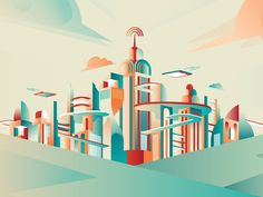 Future Cities by Rutger Paulusse / Gwer