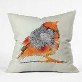 Found it at Wayfair - DENY Designs Iveta Abolina Bird Woven Polyester Throw Pillow