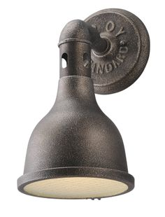 Buy the Troy Lighting Aged Pewter Direct. Shop for the Troy Lighting Aged Pewter Telegraph Hill 1 Light Wall Sconce Frosted Glass and save. Indoor Wall Sconces, Outdoor Wall Sconce, Outdoor Walls, Wall Sconce Lighting, Outdoor Barn Lighting, Troy Lighting, Exterior Lighting, Industrial Lighting, Industrial Style