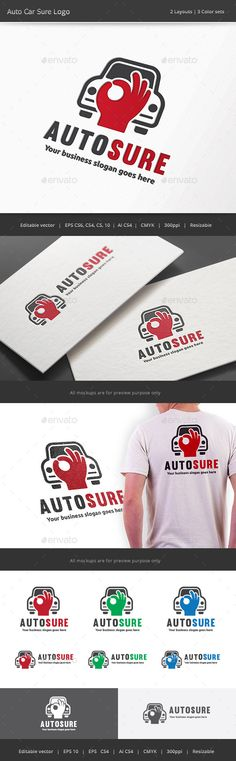 Auto Car Sure Logo