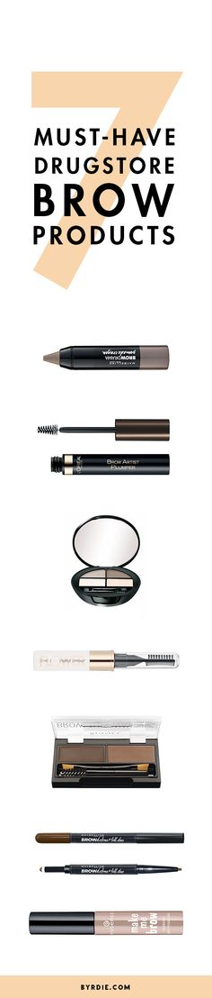 The best drugstore brow products