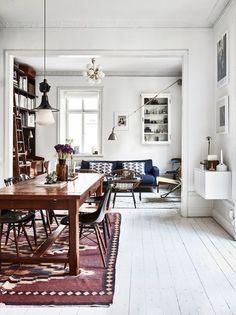 20 inspirations pour un parquet blanc tapis salon salon ouvert photographes future maison