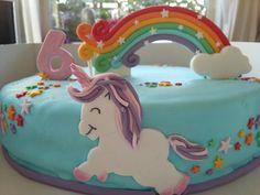 Unicorn regenboogtaart @ talvantaarten