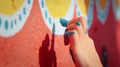 Intervenção Urbana: Coletivo Boa Mistura invade com cores a Colonia Las Américas