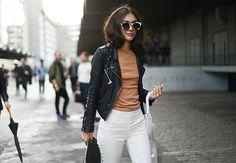 Women street style Paris #fashionweek