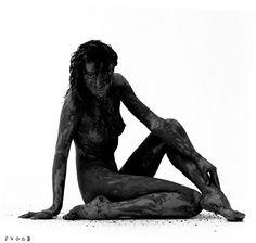portrait de boue, Mud portrait