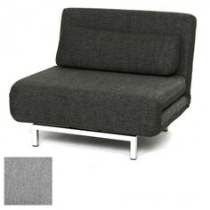 Beau Single Sofabed Charcoal   Mobler Furniture, Richmond: Vancouver BC