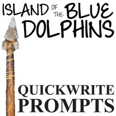 ISLAND OF THE BLUE DOLPHINS Journal - Quickwrite Writing Prompts - PowerPointTEXT: Island of the Blue Dolphins by Scott O'DellGRADE LEVEL: 4th-8thCOMMON CORE: CCSS.ELA-Literacy.RL.1; CCSS.ELA-Literacy.W.1Coming soon, this resource will be part of ISLAND OF THE BLUE DOLPHINS Unit Teaching Package bundle.This 31-prompt Island of the Blue Dolphins PowerPoint never fails to get conversation started.