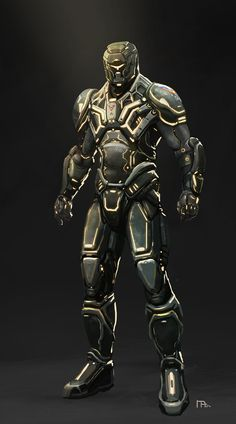 Futuristic Soldier Armor | Armor2065
