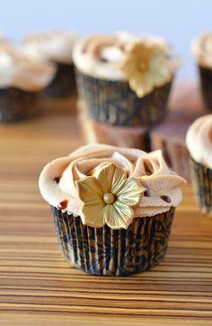 Cupcakes a diario: Cupcakes de caramelo... ¿Por qué se hunden mis cupcakes?