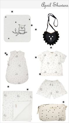 Adorable owl clothes for little ones.