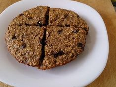 Suzanne's Kitchen : Giant banana chocolate chip breakfast cookie (1 point for chocolate chips)
