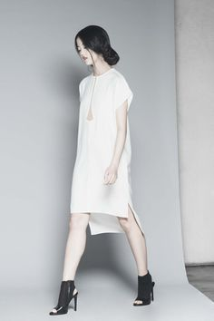 Peggy Hartanto Nephrite Dress in White | nana & bird - Only Curating What We Love