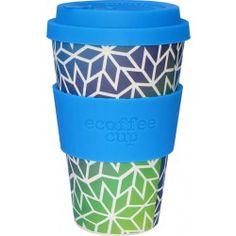 Ecoffee Cup To go Becher Bambus Stargate blau