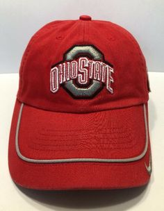 1d48f349512 Details about NCAA Ohio State Tostitos BCS National Championship 2007 Nike  Cap Hat Adult S-M