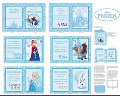 DISNEY'S FROZEN - Cloth Book Panel
