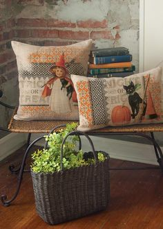 Victorian Halloween Pillow Cover | Heritage Lace