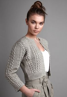 Knitting Patterns Cardigan Calm – Kim Hargreaves No description Sweater Knitting Patterns, Knitting Designs, Knit Patterns, Hand Knitting, Kids Knitting, Knit Jacket, Knit Cardigan, Knit Shrug, Crochet Shawl