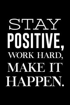 Make It Happen, Staying Positive, Motivation, Good People, Lorem Ipsum, Work Hard, Poster, Positivity, Shit Happens