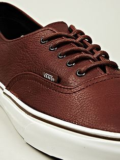 b0dd7a6c0721 Vans Authentic Decon CA Sneaker in brown at oki-ni Suits And Sneakers