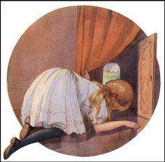 Alice seeing wonderland