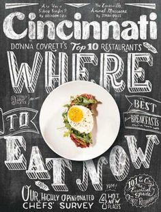 I enjoy this cover the magazine because, as an aspiring food journalist, I like to see creative food covers. This chalk cover is interesting because it plays on the idea of chalkboard in restaurants, where owners often write the restaurant's specials of the day.
