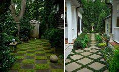 DADA IDEA: Pavaje - alei Sidewalk, Patio, Landscape, Interior Design, Outdoor Decor, Home Decor, Nest Design, Scenery, Decoration Home