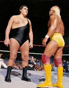 Watched WWF all the time as a kid! Hulk Hogan and Andre the Giant