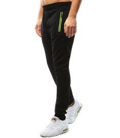 Čierne pánske teplákové nohavice Sweatpants, Fashion, Moda, Fashion Styles, Fashion Illustrations