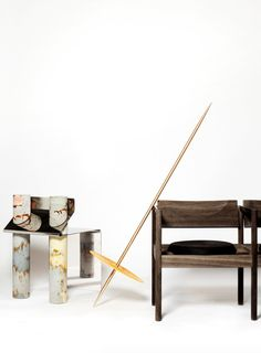 Works by Pettersen & Hein, Kasper Kjeldgaard and Maria Bruun & Anne Dorthe Vester will be part of the exhibition If It's a Chair curated by Henriette Noermark at Patrick  Parrish Gallery, New York, May 12 - June 6 2016.
