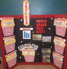 Make a Science Fair Project | Poster Ideas - Popcorn Project ...