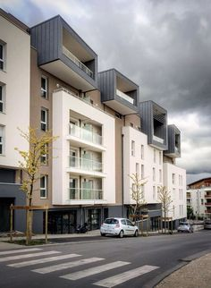 Immeuble de logements - St.Julien.en.Genevois - France - AER Architectes