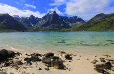 7 fine strender i Lofoten - Renates Reiser