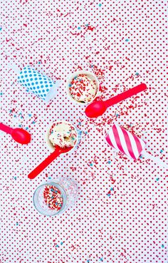 4th of July Sprinkle Fireworks | The Sweet Lulu Blog