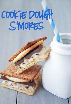 You know you want to add that cookie dough to your regular s'mores.