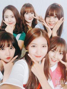 They all look so cute. Especially Eunha, her haircut fits her well. Bubblegum Pop, Extended Play, Kpop Girl Groups, Kpop Girls, Massage Girl, G Friend, K Pop Star, Gfriend Sowon, Cloud Dancer