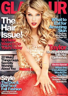 Taylor Swift Glamour November Issue(The Trend Diaries)