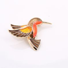 Hot 2016 Fashion Broches Jewelry New Hummingbird Brooch Lapel Pin Gold Enamel Animal Brooch Hijab Pin Vintage Brooches For Women-in Brooches from Jewelry on Aliexpress.com | Alibaba Group