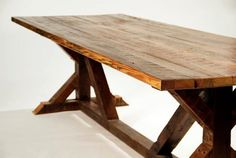 Double Sided Dining Table Large New Orleans by SouthernArchNola, $1450.00
