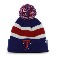 Texas Rangers Beanie '47 Brand Cuff Knit Hat