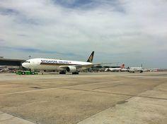 Singapure Airlines qatar Airways taxi line Atatürk airport