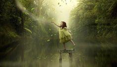 De Nieuw-Zeelandse Holly Spring maakte een prachtige fotoserie met haar lichamelijk gehandicapte dochter in de hoofdrol...