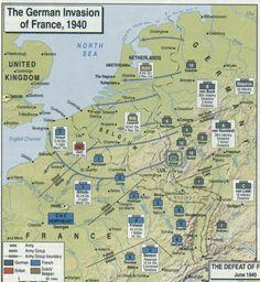 Invasie 1940: Belgium, Holland & France