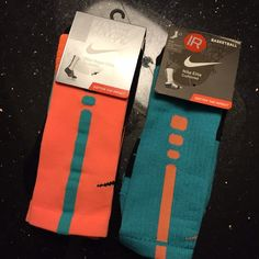 Nike Basketball Socks Brand new with tag/original packaging. Never used or worn. Two packs included with the sale. Size L (Women's size 10-13) Nike Accessories Hosiery & Socks