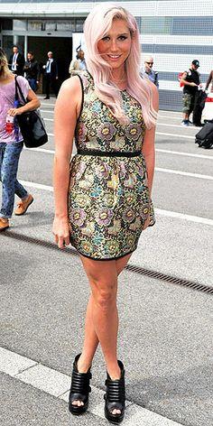 Kesha williams pink toenails 5