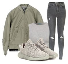 """""""Untitled #1978"""" by sunrisun ❤ liked on Polyvore featuring adidas, New Look and adidas Originals"""