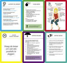 Straks oudercontact? Dan helpt dit pakket misschien: zeven praatkaartjes (ze helpen je tijdens je gesprek), een kijklijst (vul hem in en vraag ook de leraar om dat te doen) en een checklist (inspireert je voor en tijdens het gesprek).