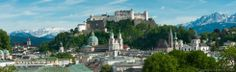 Salzburg, the birthplace of Wolfgang Amadeus Mozart, is dominated by churches, castles and palaces. Its picturesque old town is a UNESCO World Heritage Site. Best Location, Plan Your Trip, Where To Go, Old Town, Austria, Heritage Site, Mansions, Palaces, World