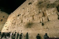 Western Wall of the Temple - Jerusalem